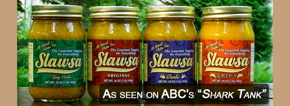 Slawsa as seen on ABC's Shark Tank