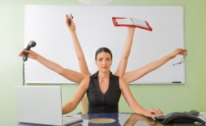 Ann Gomez Kick Multi-tasking Habit