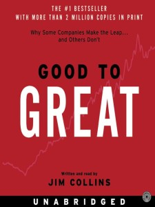 Good To Great by Jim Collins form Episode: Jill Addison - BizChix.com