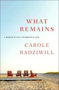 What remains: A memoir of fate, frienship and love by Carole Radziwill from Episode 38: Rebekah Epstein - BizChix.com