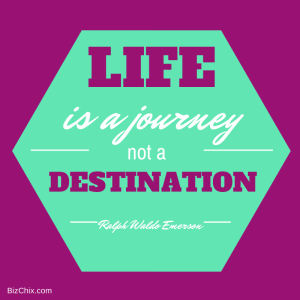 Life is a journey not a destination from Episode 62: Erin Loman Jeck of Create Infinite Balance, LLC - BizChix.com