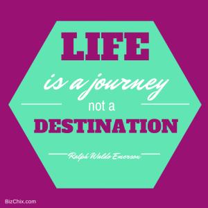 Life is a journey not a destination from Episode 62: Erin Loman Jeck of Create Infinite Balance, LLC - BizChix.com