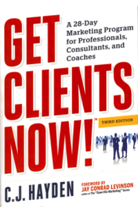 Get Clients Now - C.J. Hayden from Julie Austin - BizChix.com