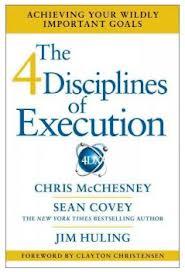 The 4 Discipline's of Execution (4DX) by Chris McChesney from Katie Krimitsos - BizChix.com