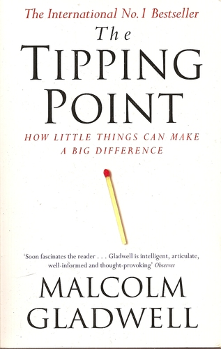 The Tipping Point by Malcolm Gladwell - Bookacourse.com