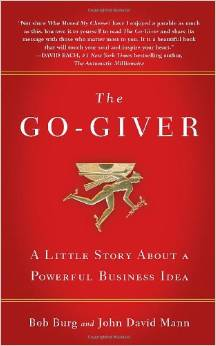 The Go-Giver by Bob Burg & John David Mann from Communications Strategist Maggie Patterson - BizChix.com