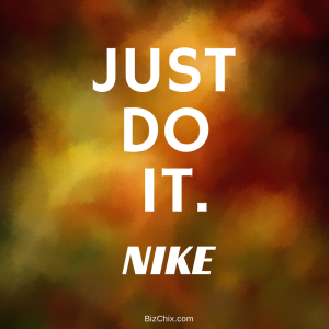 """Just Do It."" Nike from Episode 115: The Founding Moms Jill Salzman - BizChix.com"