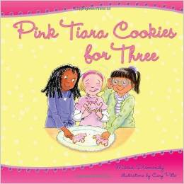 Pink Tiara Cookies for Three by Maria Dismondy - BizChix.com