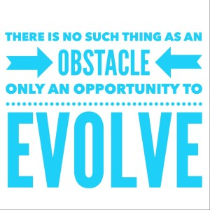 There is no such thing as an obstacle only an opportunity to evolve from Episode 88: Dare To Create A Life You Love with Rémy Chaussé - BizChix.com