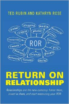 Return on Relationship by Ted Rubin - BizChix.com