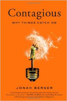 Contagious: Why Things Catch On by Jonah Berger = BizChix.com