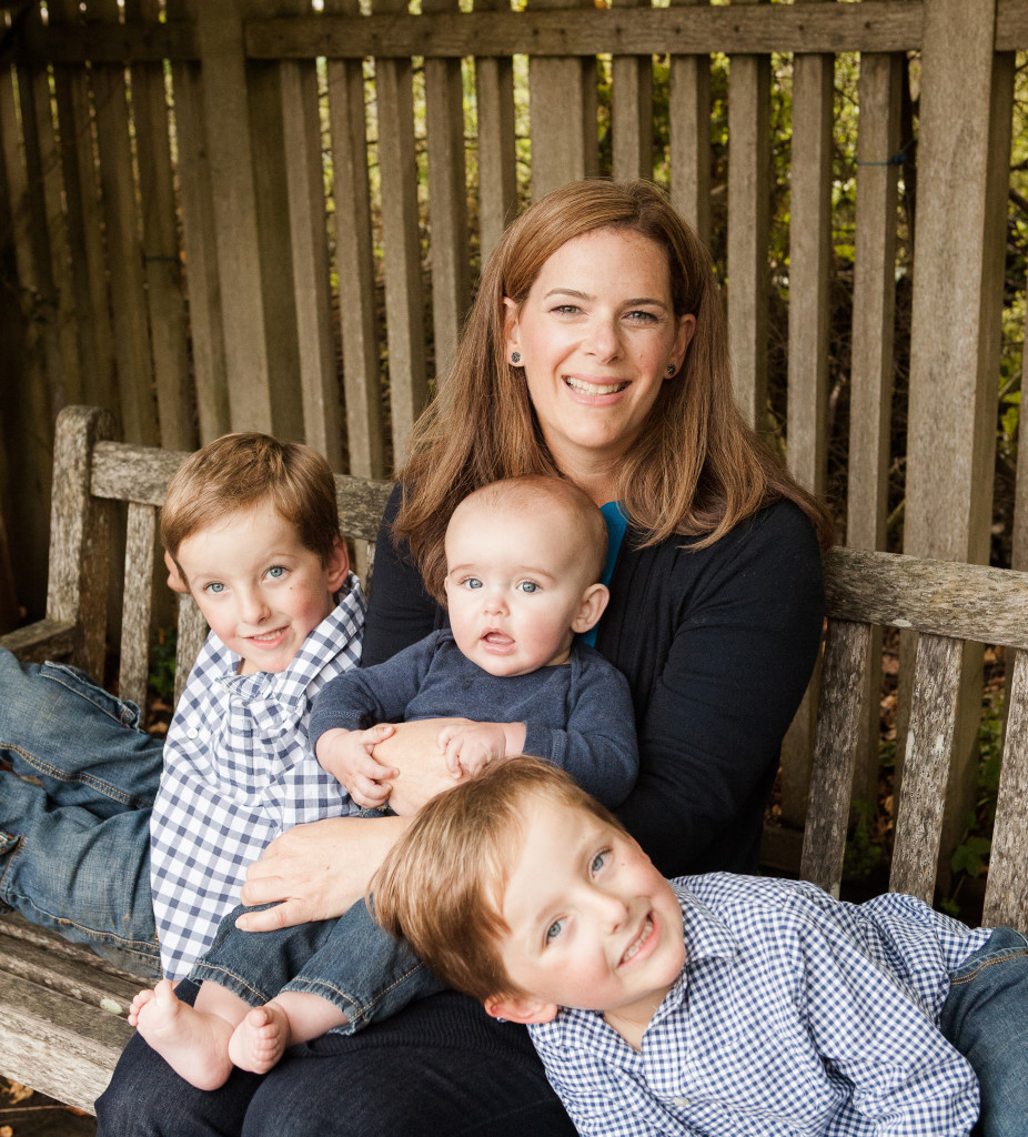 Lynn-Perkins with Sons from Lynn with her sons from Episode 109: Lynn Perkins of UrbanSitter Connects Parents and Babysitters through Social Connections - BizChix.com
