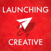 Launching Creative logo