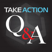 Take Action Q&A logo
