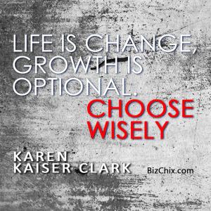 life is change
