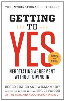 Getting to Yes: Negotiating Agreement without Giving In by Roger Fisher & William Ury - BizChix.com