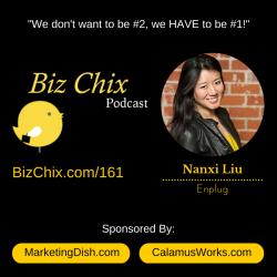 Ep 161: LA Tech Start Up – Enplug CEO Nanxi Liu