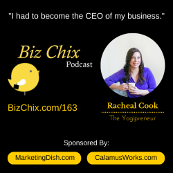 Ep 163: From Solopreneur to CEO with Racheal Cook