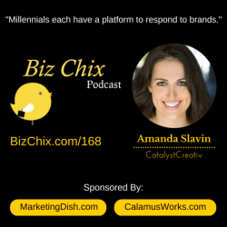 Ep 168: Marketing to Millennials and Gen Z with Amanda Slavin of Catalyst Creativ
