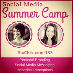 183: Personal Branding and Social Media Images with Melinda Yeaman and Vanessa Van Edwards