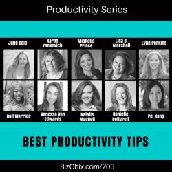 205: [new series] Productivity – TopTips of BizChix Guests