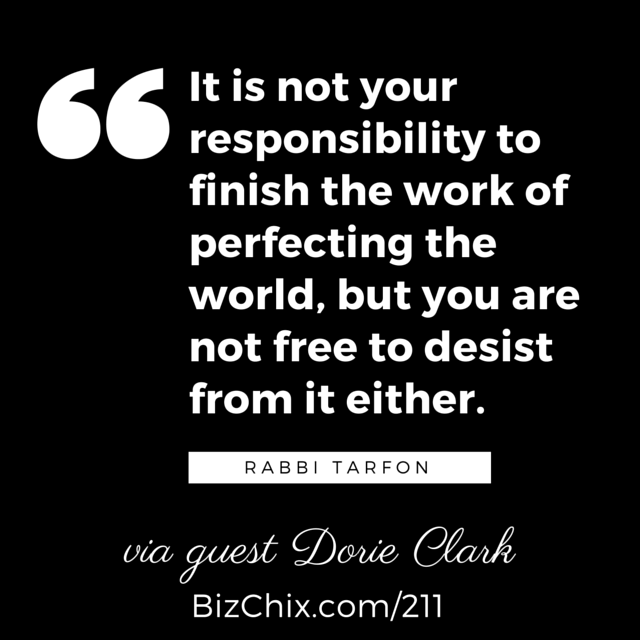 BizChix.com-211 It is not your responsibility to finish the work