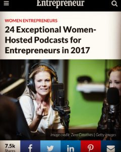 Best Podcasts for Women Entreprenurs