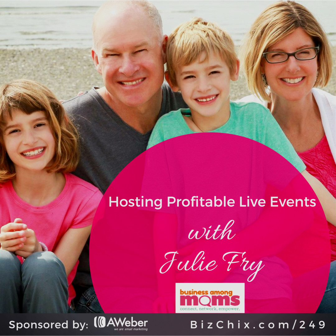 hosting profitable live events with julie fry