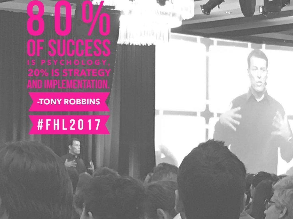 Tony Robbins at FHL2017