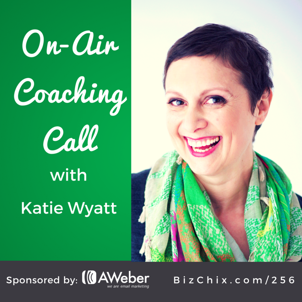on air coaching call with Katie Wyatt