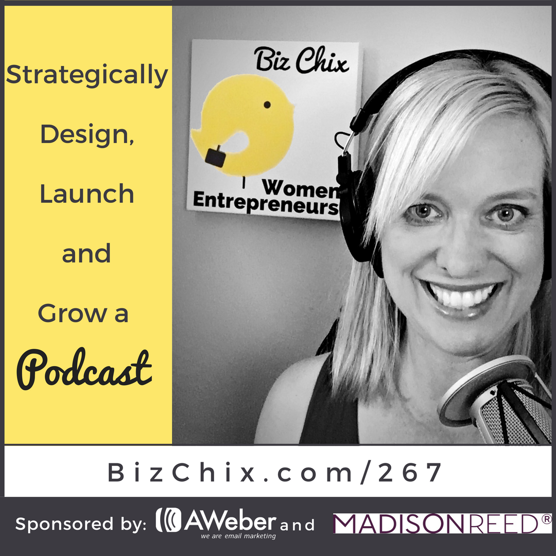 267: Strategically Design, Launch and Grow a Podcast
