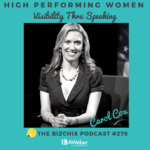 Carol Cox Speaking Coach on BizChix Podcast
